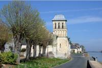 Gennes église Saint-Genulf Saint-Charles du Thoureil.