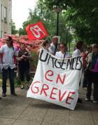 CHU Angers : 60% du personnel des urgences en grève