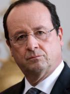 Le Président François Hollande à Angers le 12 juin