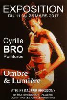 Plasticien émergeant, Cyrille BRO expose à Angers ses oeuvres récentes.