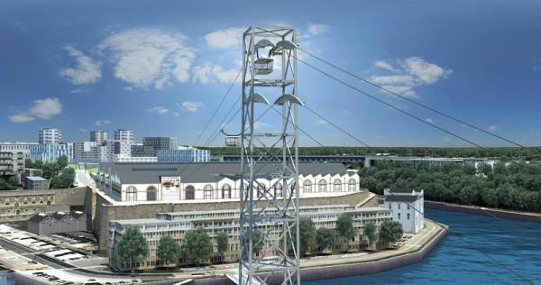 Le projet de téléphérique Photo ville de Brest