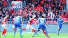 Stade Brestois: La montée s'éloigne, Brest – Nîmes 2-3