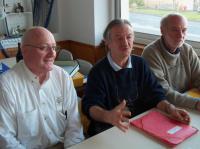 Rémy Gautron (au centre), président de Fédération Presqu'île Environnement