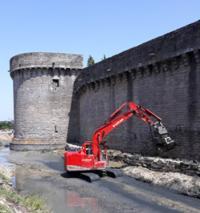 Guérande restauration des remparts