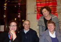Sylvie Galopin, Jean-Luc Perrais, Hélène Challier, Fabienne Aubert