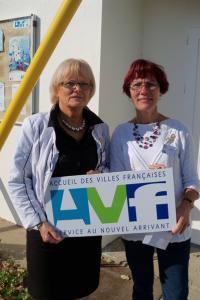 Monique Joly et Marie-Madeleine Bourré.