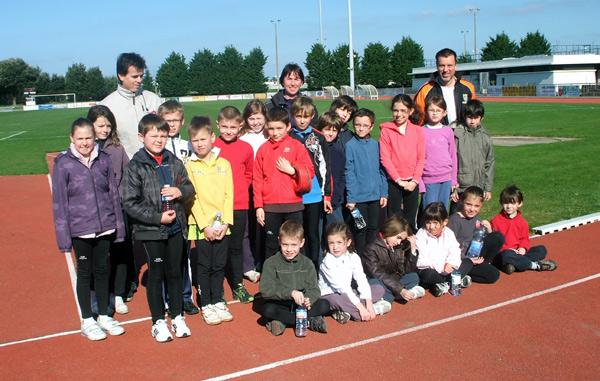 L'école d'athlétisme d'Herbignac.
