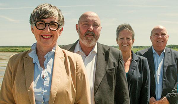 GhislaineHervoche, Denis Sebillo, Caroline Lebeau, Franck Duval