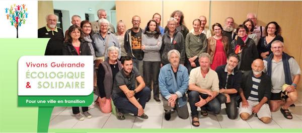 La lise « Vivons Guérande Écologique et Solidaires »