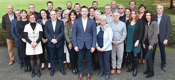 « Ensemble Guérande avance » liste du maire sortant Nicolas Criaud