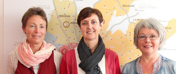 Anne GUEZOU, Anne LE GOUARD, Bénédicte BROCHARD