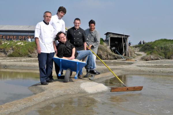 Jacky Boucher, Hervé Michels, Sébastien Guéry, Laurent Boulo et Thomas Barreau.