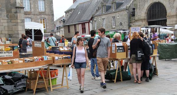 Guérande : L'association des Bouquinistes de Bretagne Sud