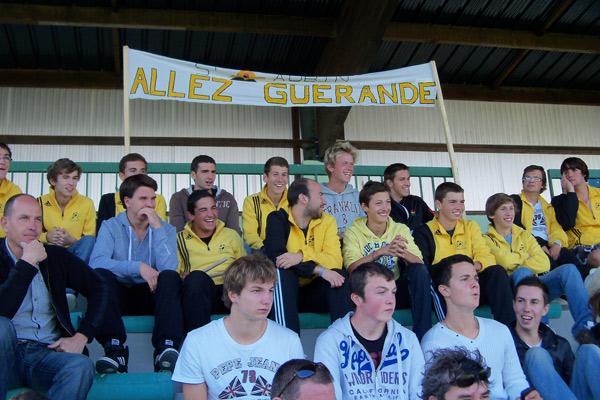 Les supporters Guérandais donnent de la voix
