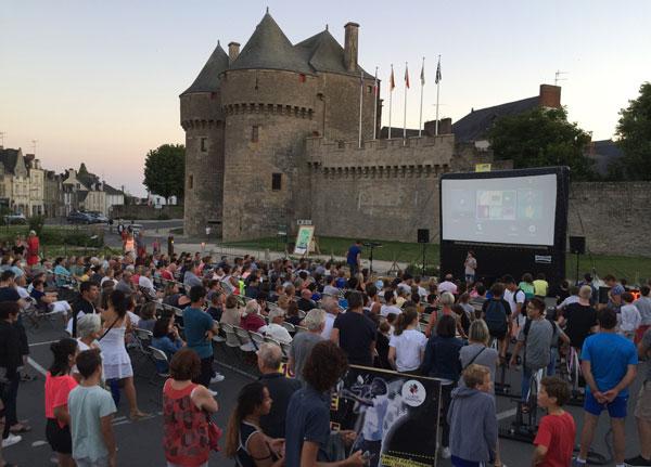 Guérande Cinéma en plein air