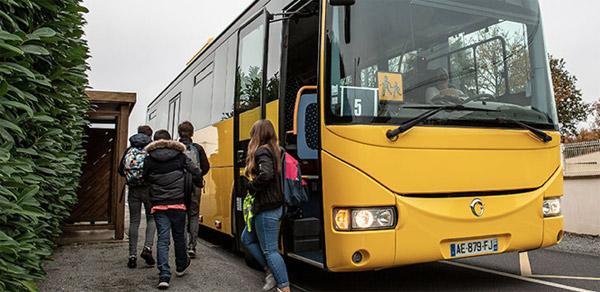Transports scolaires du réseau Lila Presqu'ile