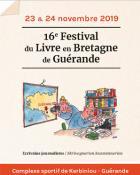 Guérande: 16e édition du Festival du livre en Bretagne