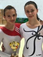 Guérande : Eléa Championne départemental Minime de gymnastique FSCF