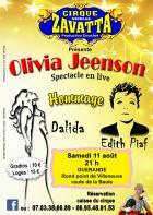 Guérande : Hommage à Dalida et Edith Piaf au cirque Zavatta
