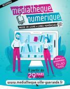 Guérande: la médiathèque propose la presse en ligne  et les livres numériques