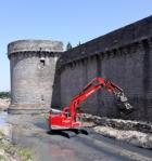 Guérande: Les remparts ont commencé une restauration