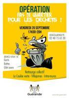 Guérande: opération pas de quartiers pour les déchets