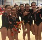 Gymnastique Pays Blanc Guérande : L'équipe des (10-14 ans): 3ème en catégorie Honneur
