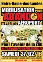 Les �lus verts de Gu�rande se mobilisent pour l�abandon du projet Notre-Dame-des-Landes