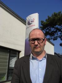Arnaud Blanchon, directeur du Pôle emploi de La Baule.