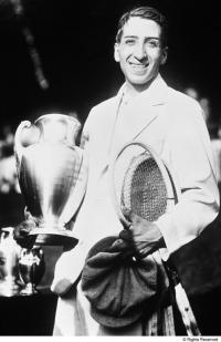 1927 - René Lacoste, the winner at Forest Hills