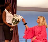 Lady Oscar avec Amanda Lear