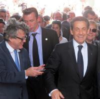 Nicolas Sarkozy campagne de 2012 en presqu'île Guérandaise (archives)