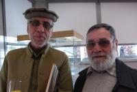 Nouroullah Hakimi et Alain Lebeau.