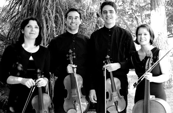 Le quatuor Philea.