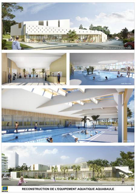 Le nouveau centre aquatique
