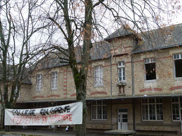Le collège situé en centre-ville aurait dû déménager à Escoublac.
