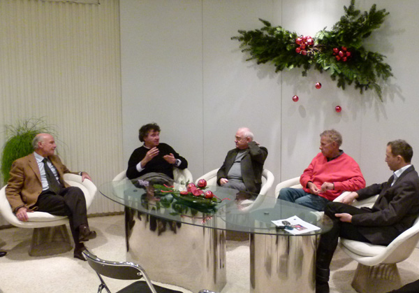 Yves Métaireau, Pierre Sastre, Daniel Duveau, Patrick Poivre d'Arvor, Patrice Guérin