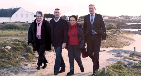 Marie-Yvonne Halpern, Gilles Le Helloco, Jacqueline Tomine Olivier, Robert Belliot