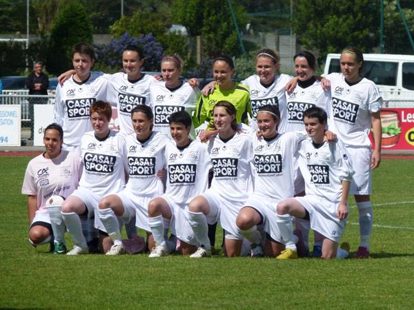 L'équipe féminine talentueuse de Saint-Lyphard