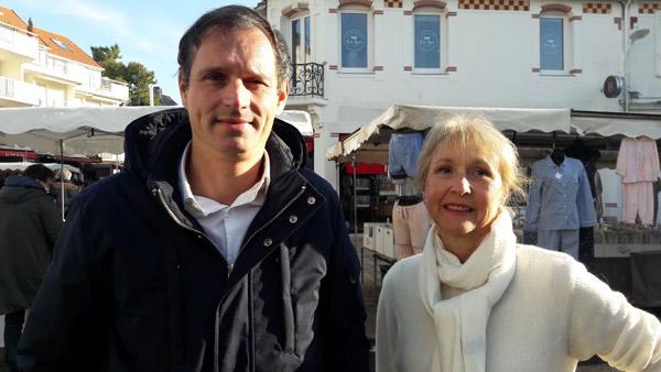 Jean-Yves Gontier et Danièle Patra