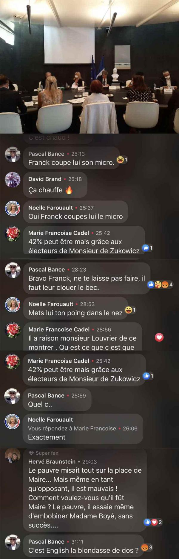 Les intellos de La Baule qui commentent le Conseil municipal