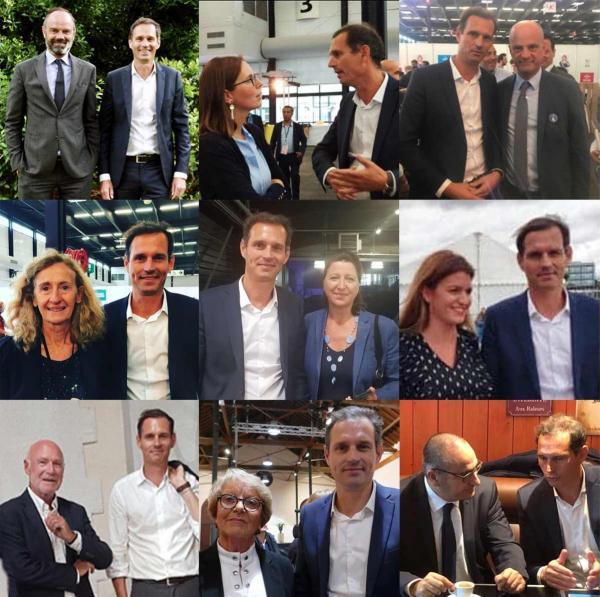 Les soutiens de Gontier,  les soutiens de Louvrier : Pelleteur, Priou
