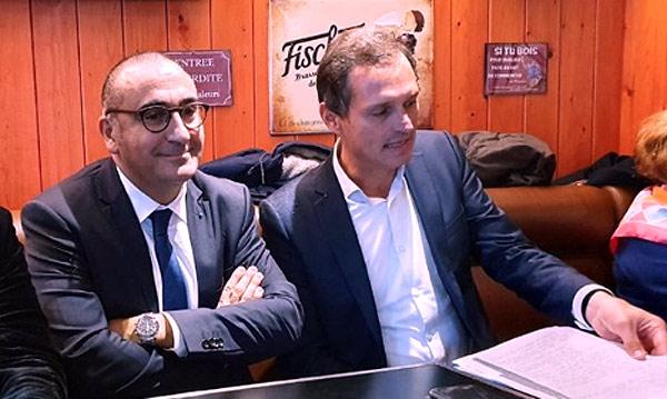 Laurent Nuñez, Secrétaire d'État, Jean-Yves Gontier candidat à la mairie de La Baule