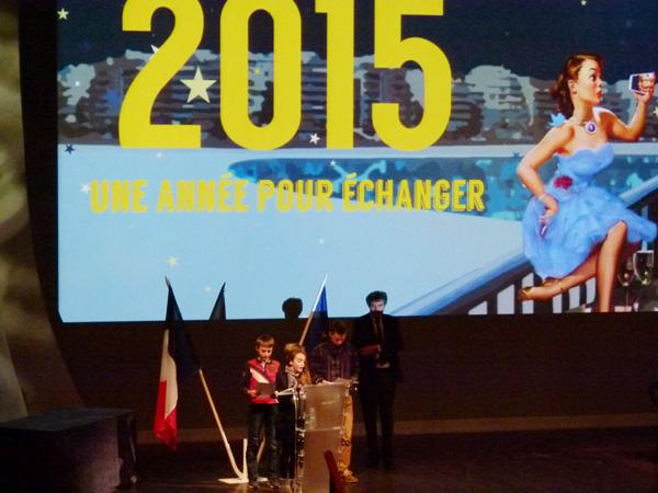 Le conseil municipal des jeunes a transmis ses voeux et souhaits pour La Baule