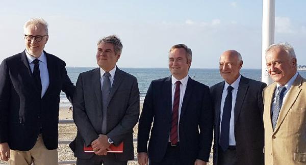 Christophe Priou, Franck Louvier, Jean-Baptiste Lemoyne, Yves Métaireau, Gatien Meunier