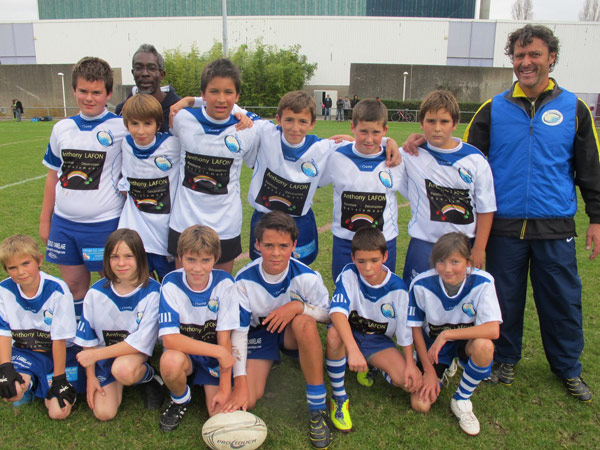L'équipe des - de 13 ans saison 2011/2012