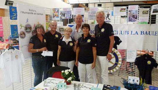 L'équipe du Rotary Club