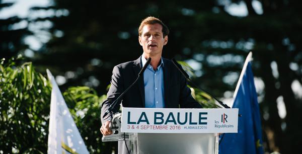 Jean-Yves Gontier aux Universités d'été des Républicains en 2016