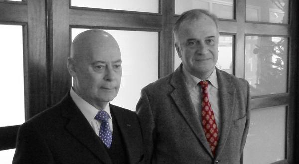 Guy Lemaire et Gatien Meunier