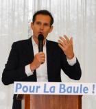 LaBaule:Jean-Yves Gontierinvestiofficiellement parLREMpour l'élection municipale.